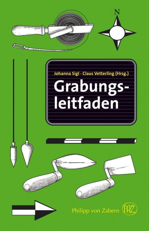 cover of German book: Grabungsleitfaden